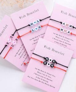 Bracelet pour Couple Personnalisable