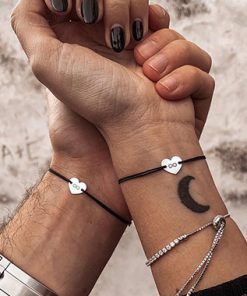 Bracelet Distance Couple Personnalisable