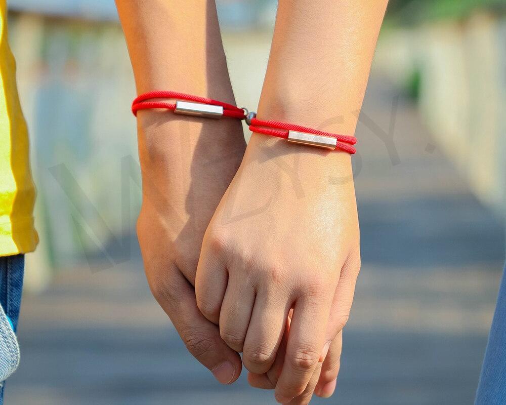Bracelet personnalisé couple